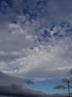 Altocumulus Cloud