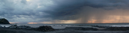 Convective storms over Borth