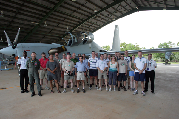 The Egrett aircraft, and most of the team involved in the ACTIVE project.