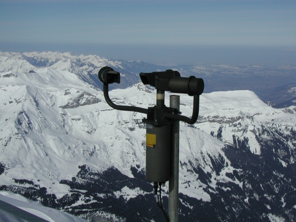 Present Weather Sensor at the Jungfraujoch
