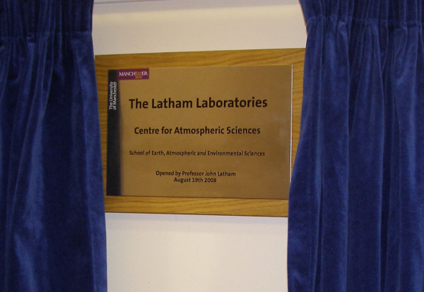 Official Opening Official Opening of The Latham