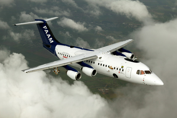 The FAAM BAE146 Aircraft.