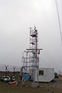 A single site cloud experiment at Holme Moss in 2006 involving scientists from the centre and from NOAA.