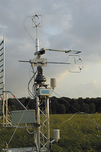 Aerosol Particle Eddy Covariance Flux System.